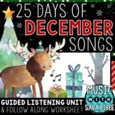 Christmas Music- 25 Days of December Songs- 87 Video Links