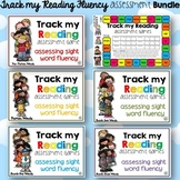 Track my Reading Fluency Assessment Games: The BUNDLE Pre-