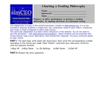Tracking Investment Decision Tchr