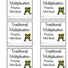 Traditional Multiplication Practice Mini-Book