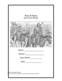 Trail of Tears Document Packet