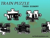 Train Puzzle Token Economy by Positively Autism