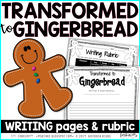 Transformed to Gingerbread! [writing freebie]