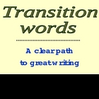 Transition words for good writing