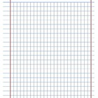 Transitional Notebook Paper (wide ruled)