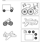 Transporation / Transporte - Spanish Lesson (Difficult / Age 4)