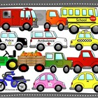 Transportation Clipart for personal or commercial use incl