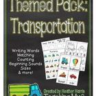 Themed Pack: Transportation