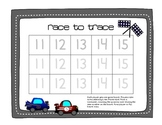 Transportation Race to Trace and Write the Room