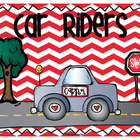 Transportation Signs/Posters and Student Labels
