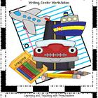 Transportation and Community Helper Writing Center Workstation