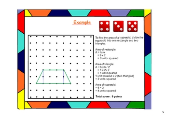 Trapezoid Trap!  Math Games for the SMARTboard