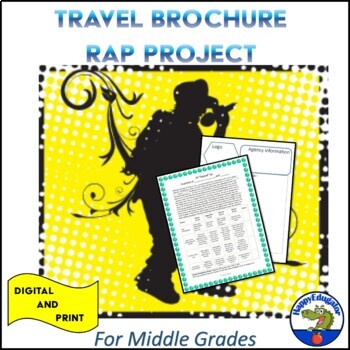 Travel Brochure Rap Project
