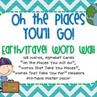 Travel Themed Word Wall!