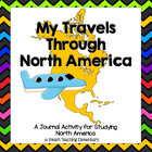 Travel Through North America-Journal Activity