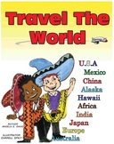 """TRAVEL THE WORLD"" -- INFORMATIONAL LEARNING SERIES"