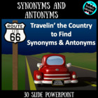 Travelin' the Country to Find Synonyms and Antonyms