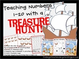Treasure Hunt: Teaching Numbers 1-20