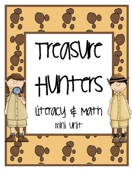 Treasure Hunters Literacy & Math Activities