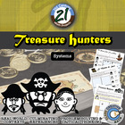 Treasure Hunters -- System of Equations & Inequalities Pir