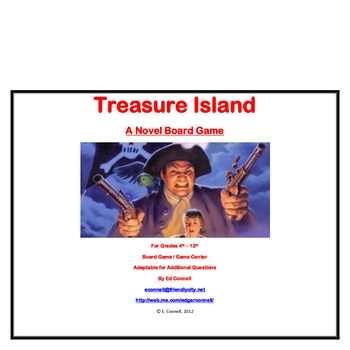 Treasure Island Board Game
