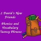 Treasures 2nd Grade 1.1 David's New Friends Fluency