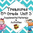 Treasures 5th Grade Language Arts Reading Unit 3 Bundle Ma