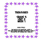 Treasures 5th grade, Unit 3, Week 1 - Small Group Book Act
