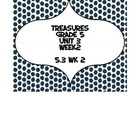 Treasures 5th grade, Unit 3, Week 2 - Small Group Book Act
