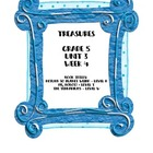 Treasures 5th grade, Unit 3, Week 5 - Small group book act