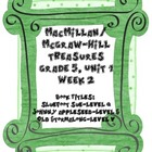 Treasures Grade 5, Unit 1 small group activities for 5 wee