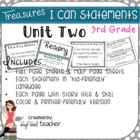 "Treasures ""I Can"" Posters-Unit 2 Reading Comprehension (Grade 3)"
