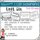 "Treasures ""I Can"" Posters-Unit 6 Reading Comprehension (Grade 3)"