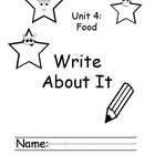 Treasures Kindergarten Write About it Journals Smart Start