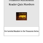Treasures Quiz Numbers for Accelerated Reader