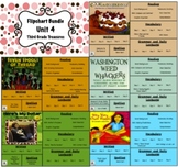 Treasures Reading 3rd Grade Unit 4 Flipcharts Bundle