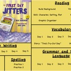 Treasures Reading- First Day Jitters Unit 1 Week 1 Flipcha