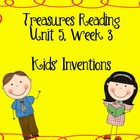 Treasures Reading Resources Unit 5 (Week 1-3)