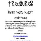 Treasures Sight Word Packet First Grade Units 1-6