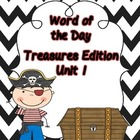 Treasures Sight Word of the Day--Unit 1