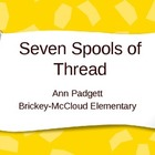 Treasures Vocabulary Power Point for Seven Spools of Thread