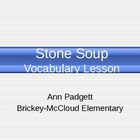 Treasures Vocabulary Power Point for Stone Soup