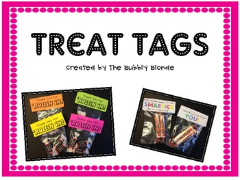 Treat Tags--FREEBIE