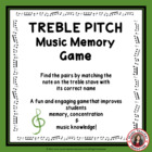Treble Pitch Memory Game