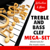 Treble and Bass Clef Mega-Set