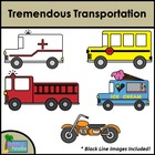 Tremendous Transportation Clip Art {Commercial and Personal Use}