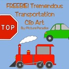 Tremendous Transportation Clip Art {FREEBIE}