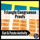 Triangle Congruence Proofs Cut Out Activity