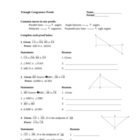 Triangle Congruence Proofs