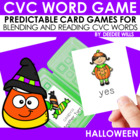 Trick or Treat! A Halloween CVC Memory Match and Game